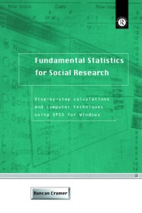 Cover Fundamental Statistics for Social Research