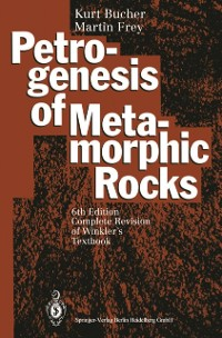 Cover Petrogenesis of Metamorphic Rocks