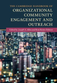 Cover Cambridge Handbook of Organizational Community Engagement and Outreach