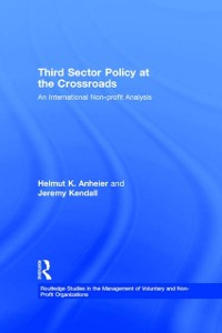 Cover Third Sector Policy at the Crossroads