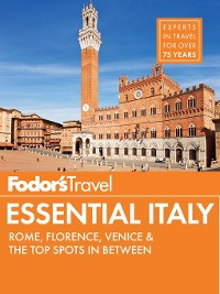 Cover Fodor's Essential Italy