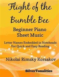 Cover Flight of the Bumble Bee Beginner Piano Sheet Music