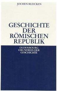 Cover Geschichte der Römischen Republik