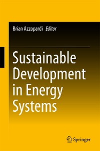 Cover Sustainable Development in Energy Systems