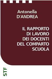 Cover Il rapporto di lavoro dei docenti del Comparto Scuola