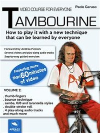 Cover Video course for everyone Tambourine. Volume 2