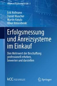 Cover Erfolgsmessung und Anreizsysteme im Einkauf