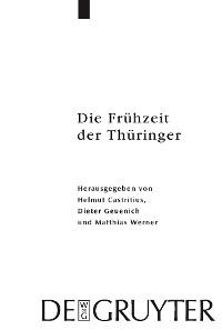 Cover Die Frühzeit der Thüringer