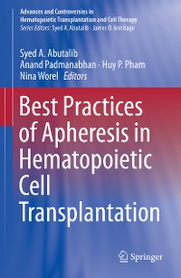 Cover Best Practices of Apheresis in Hematopoietic Cell Transplantation