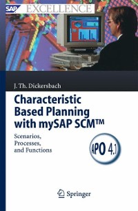 Cover Characteristic Based Planning with mySAP SCM™