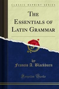 Cover The Essentials of Latin Grammar