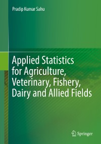 Cover Applied Statistics for Agriculture, Veterinary, Fishery, Dairy and Allied Fields
