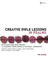 Cover Creative Bible Lessons in Psalms
