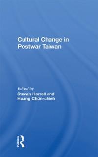 Cover Cultural Change In Postwar Taiwan