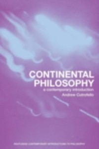 Cover Continental Philosophy