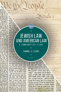 Cover Jewish Law and American Law, Volume 2