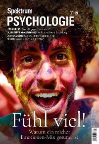 Cover Spektrum Psychologie 1/2019 - Fühl viel!
