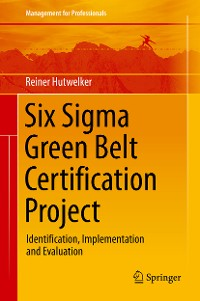 Cover Six Sigma Green Belt Certification Project