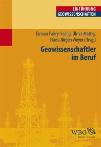 Cover Geowissenschaftler im Beruf