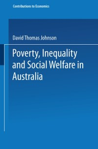 Cover Poverty, Inequality and Social Welfare in Australia