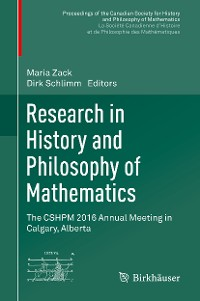 Cover Research in History and Philosophy of Mathematics