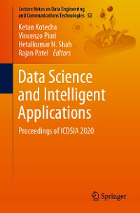 Cover Data Science and Intelligent Applications