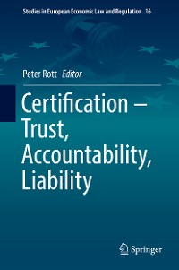 Cover Certification – Trust, Accountability, Liability
