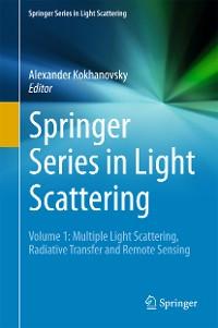 Cover Springer Series in Light Scattering