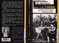 Cover Un manifeste pour le cinema