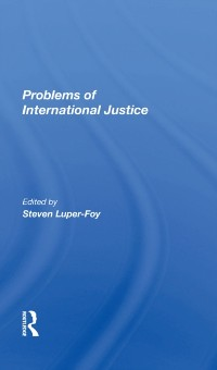 Cover Problems Of International Justice