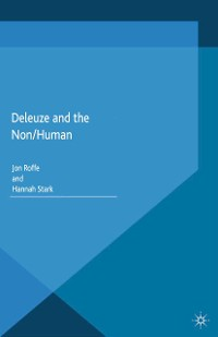 Cover Deleuze and the Non/Human