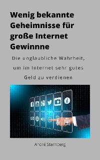 Cover Wenig bekannte Geheimnisse für große Internet Gewinne