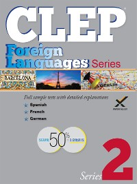 Cover CLEP Foreign Language Series 2017