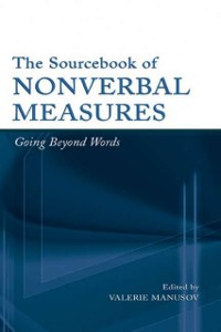 Cover Sourcebook of Nonverbal Measures