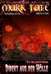 """Cover TEUFELSJÄGER 207-208: """"Direkt aus der Hölle"""""""