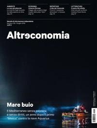 Cover Altreconomia 216 - Giugno 2019