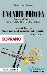 Cover (Soprano part) Una voce poco fa - Soprano & Woodwind Quintet