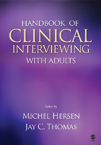 Cover Handbook of Clinical Interviewing With Adults
