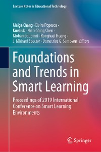 Cover Foundations and Trends in Smart Learning