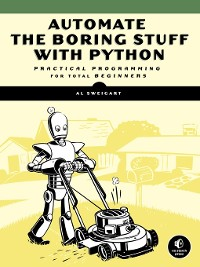 Cover Automate the Boring Stuff with Python