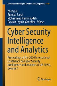 Cover Cyber Security Intelligence and Analytics