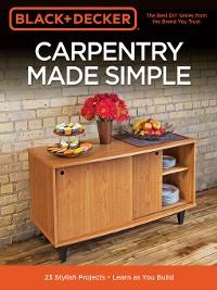Cover Black & Decker Carpentry Made Simple