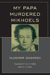 Cover My Papa Murdered Mikhoels