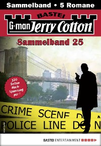 Cover Jerry Cotton Sammelband 25 - Krimi-Serie
