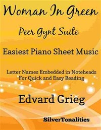 Cover Woman in Green Peer Gynt Suite Easiest Piano Sheet Music