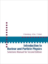 Cover Introduction to Nuclear and Particle Physics