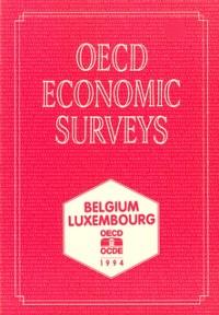 Cover OECD Economic Surveys: Belgium 1994