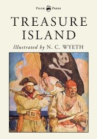 Cover Treasure Island - Illustrated by N. C. Wyeth