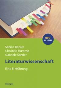Cover Literaturwissenschaft. Eine Einführung