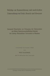 Cover Beitrage zur Kennzeichnung und analytischen Untersuchung von Trink-, Brauch- und Abwasser